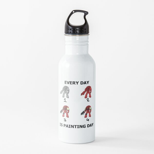 Every day is painting day (Blood Ravens) Water Bottle