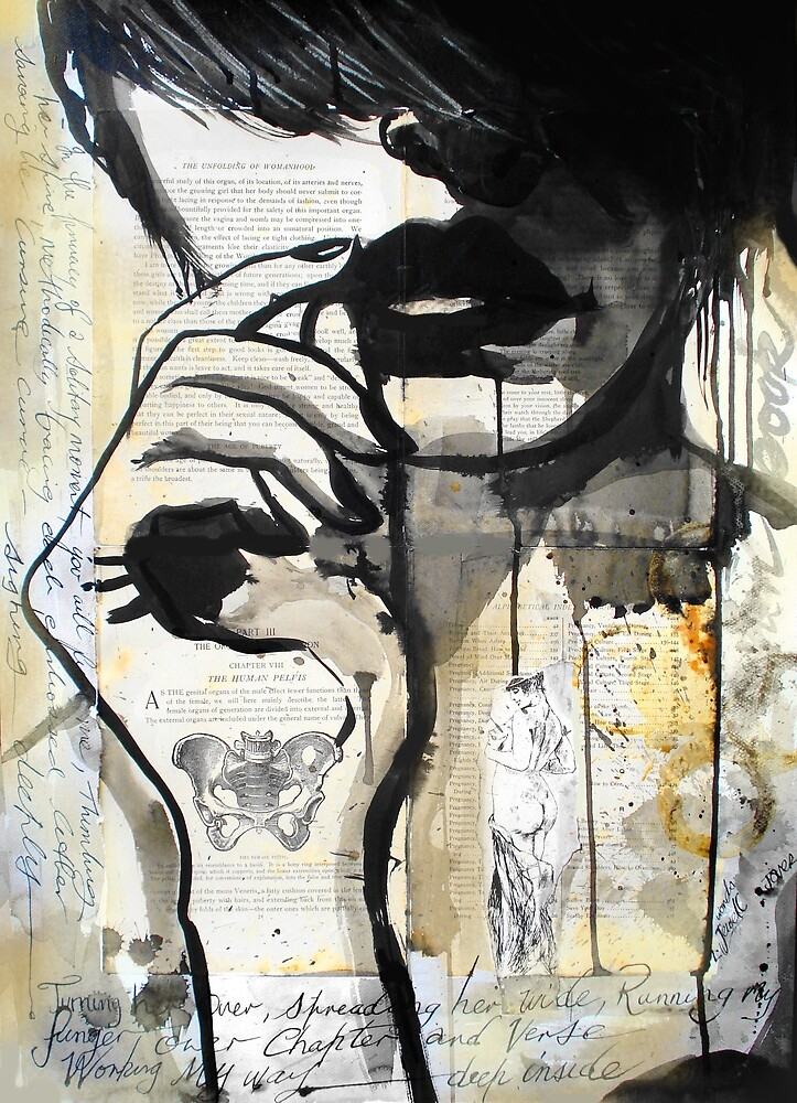 open book by Loui  Jover