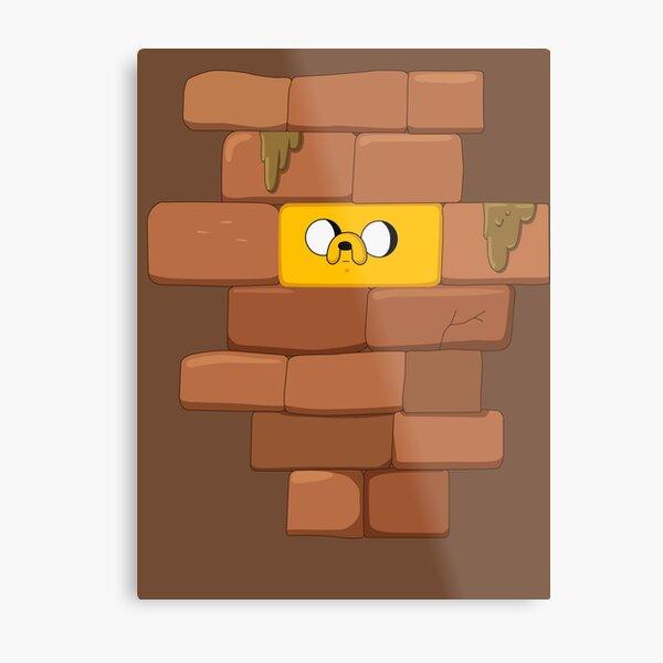 Jake The Brick Metal Print