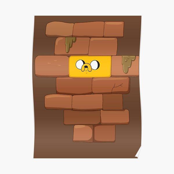 Jake The Brick Poster