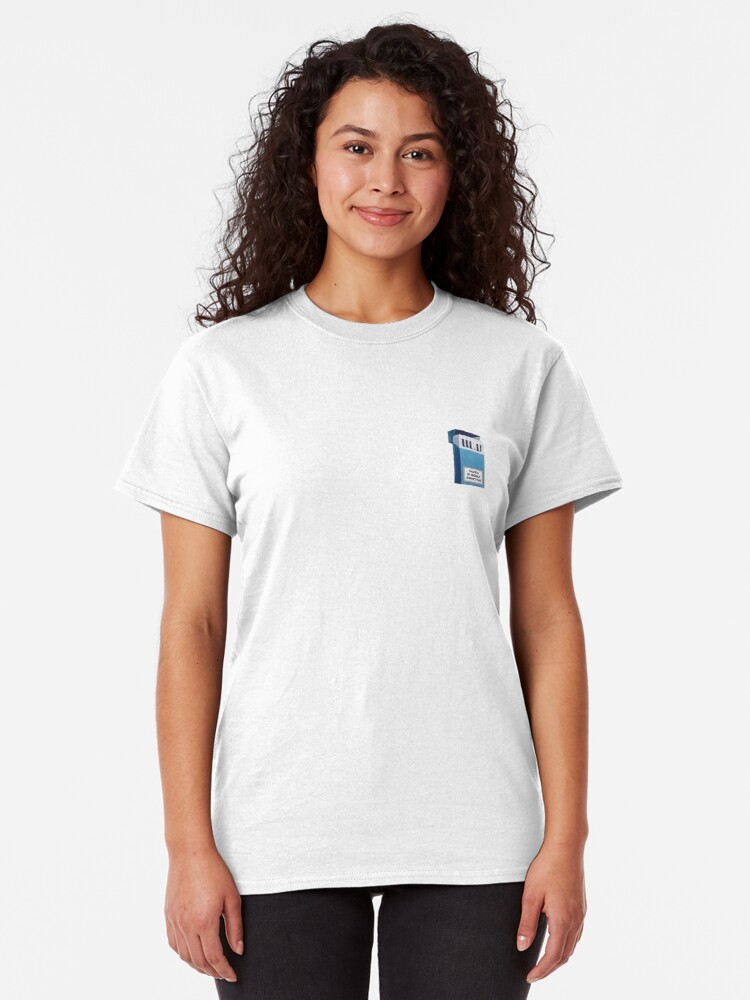 Alternate view of Music Is Addictive  Classic T-Shirt