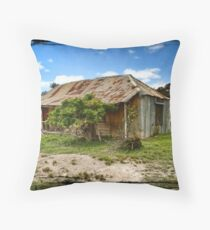 Hill End Cottage Throw Pillow