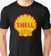 SHELL ROYAL DUTCH OIL OLD VINTAGE LOGO T-Shirt