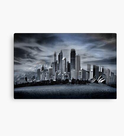 sydney cbd Canvas Print