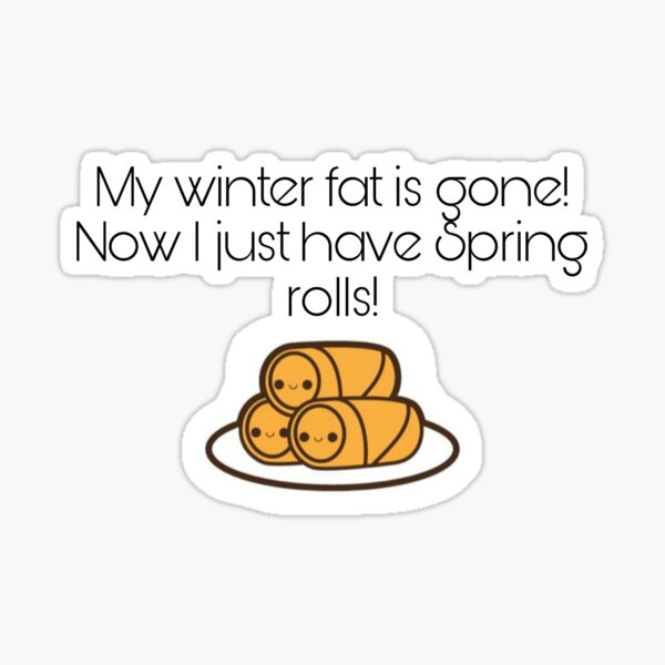 Spring rolls Sticker