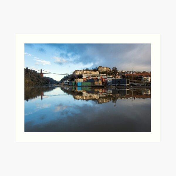 Bristol at High Tide Art Print
