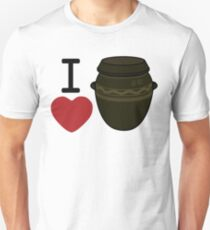 I Heart Kimchi Third Culture Series Unisex T-Shirt