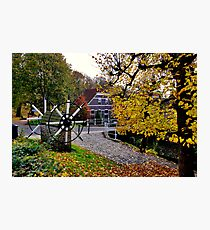 Autumn in Willemstad Photographic Print
