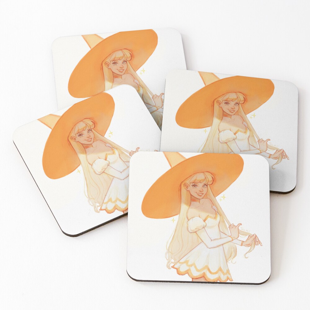 Witch Venus Coasters (Set of 4)