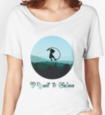 I Want to Believe in Mew Women's Relaxed Fit T-Shirt