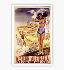 1950 Western Australia Sticker