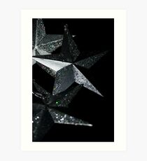 """Stars"" (Christmas Card) Art Print"