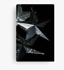 """""""Stars"""" (Christmas Card) Canvas Print"""