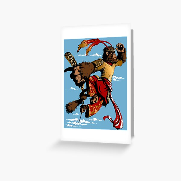 Sun Wukong-Monkey King Greeting Card