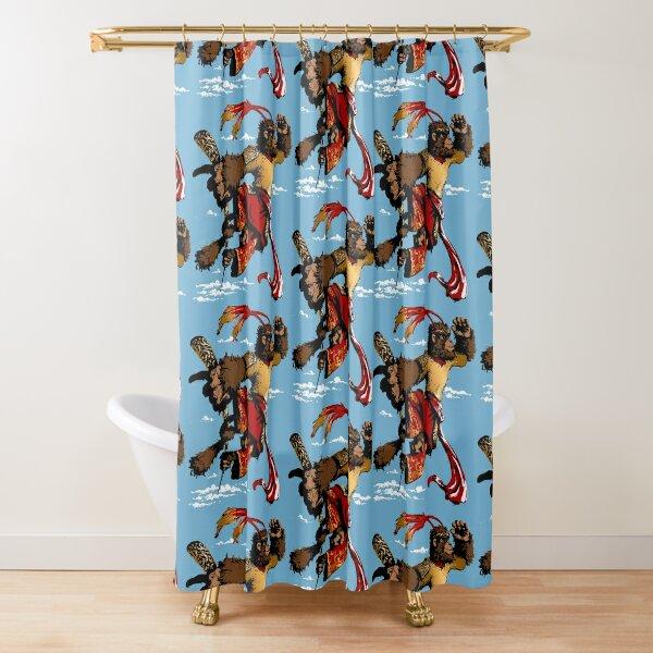 Sun Wukong-Monkey King Shower Curtain