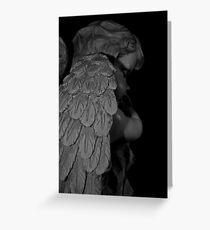 """Sleeping Angel"" (Christmas Card) Greeting Card"