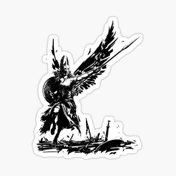 Valhalla Valkyrie  Sticker