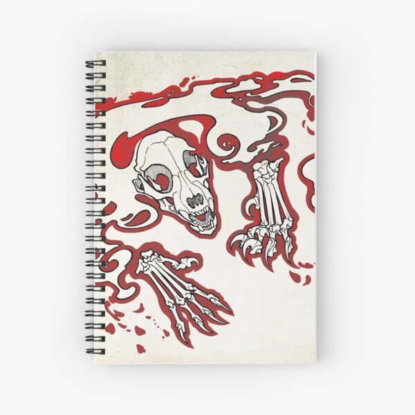 The Lurker Spiral Notebook