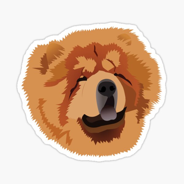 Chen the Chow Chow Sticker