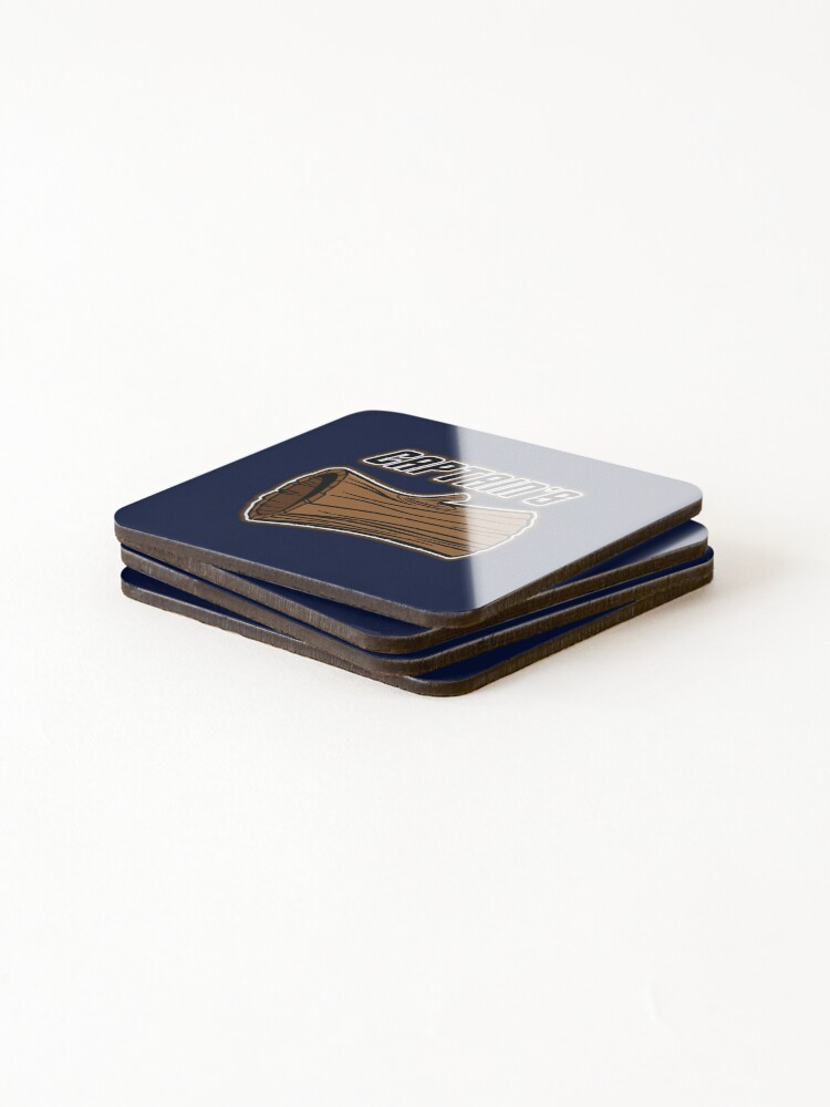 Alternate view of STAR TREK CAPTAINS LOG DESIGN -star trek rb partner program Coasters (Set of 4)