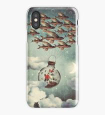 The Rose That Wanted to See the World iPhone Case