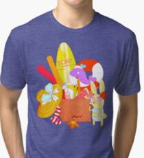 August  Tri-blend T-Shirt