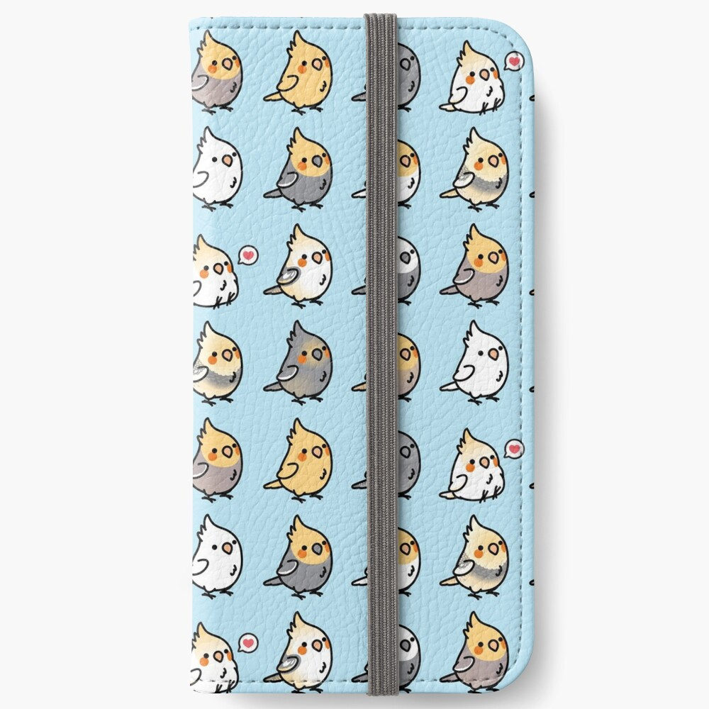 Chubby Cockatiel Collection iPhone Wallet
