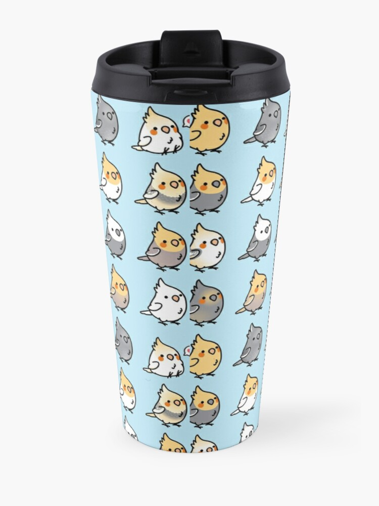 Alternate view of Chubby Cockatiel Collection Travel Mug