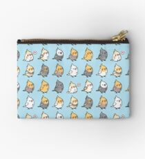 Chubby Cockatiel Collection Zipper Pouch