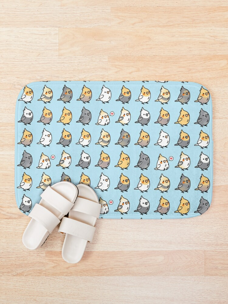 Alternate view of Chubby Cockatiel Collection Bath Mat