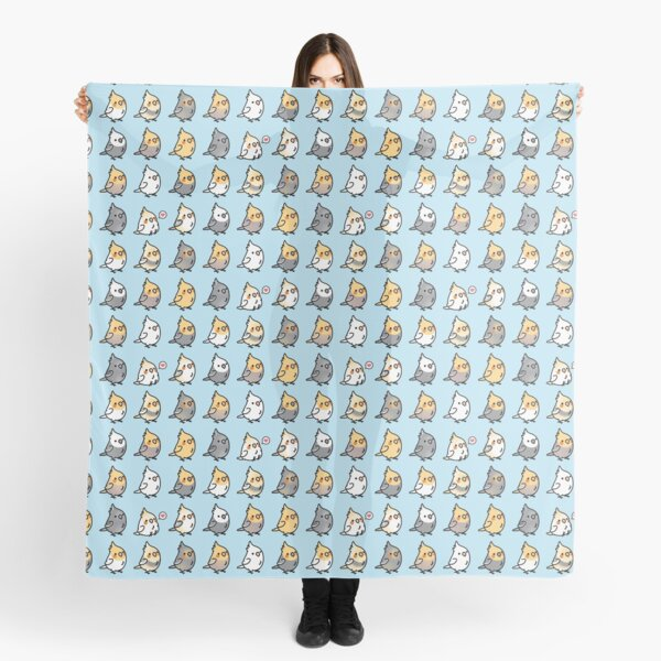 Chubby Cockatiel Collection Scarf