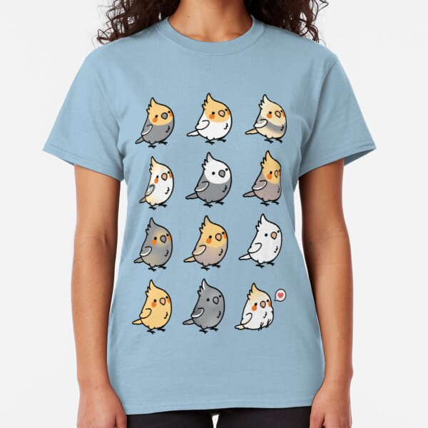 Chubby Cockatiel Collection Classic T-Shirt