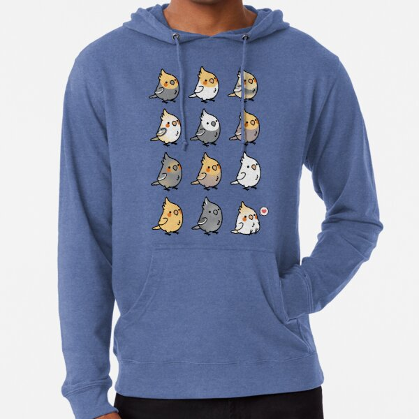 Chubby Cockatiel Collection Lightweight Hoodie