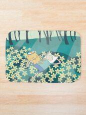 Field of Flowers (Adventure Time) Bath Mat