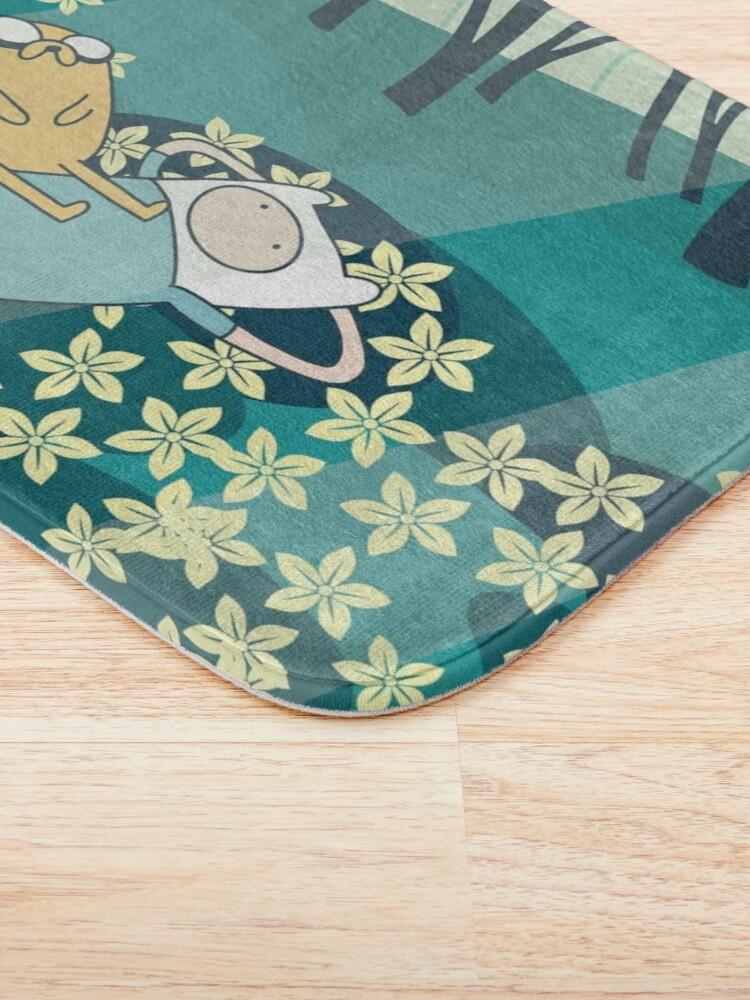 Alternate view of Field of Flowers (Adventure Time) Bath Mat