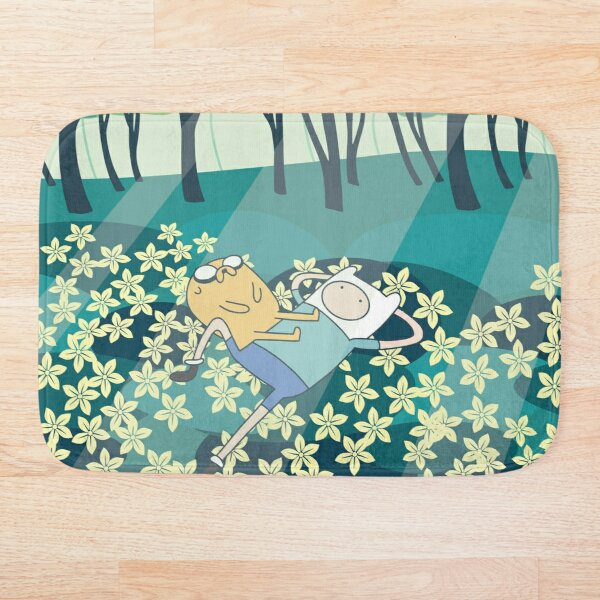 Field of Flowers (Adventure Time) Bath Mat