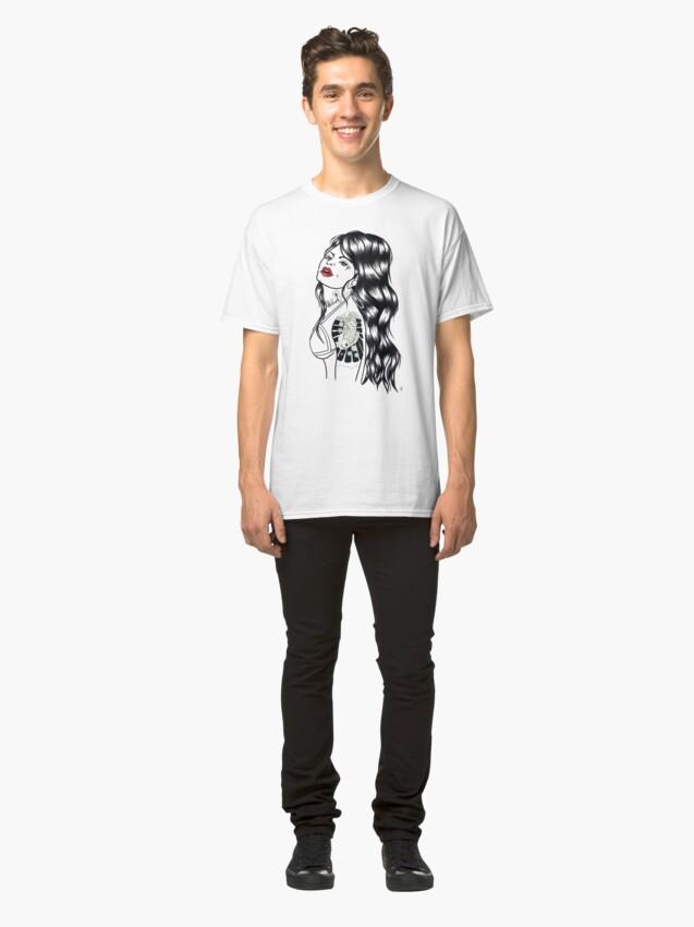 Alternate view of Blackwater girl - Koi Classic T-Shirt