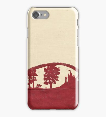 Afternoon walk in the palace garden iPhone Case/Skin