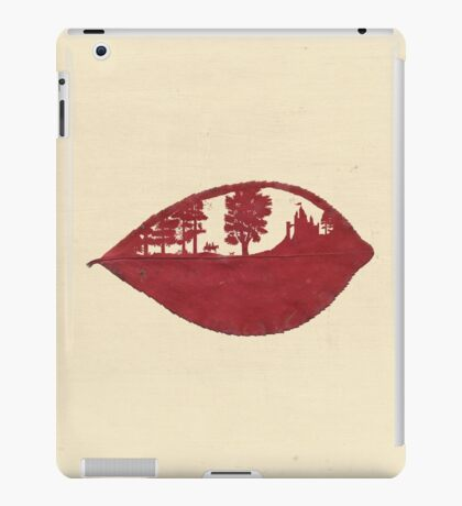 Afternoon walk in the palace garden iPad Case/Skin