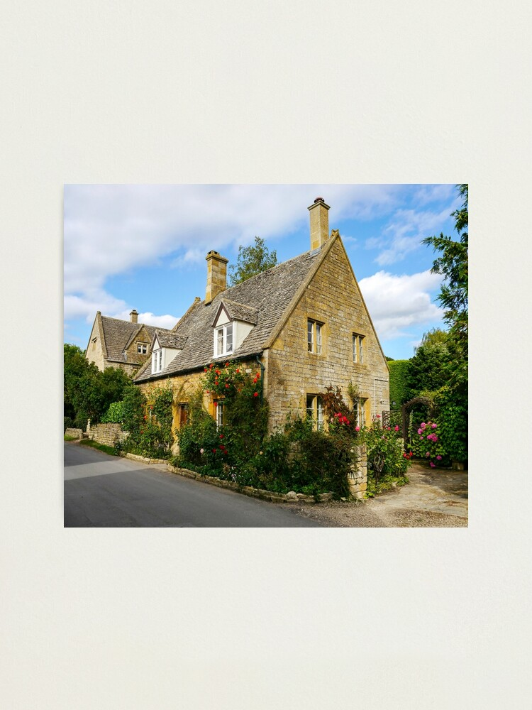 Alternate view of Village Cottage Photographic Print