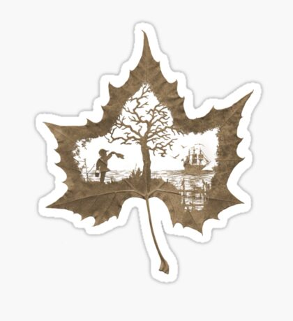 The Memories of a Leaf: Good Bye Sticker