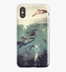My favourite morning race iPhone Case/Skin