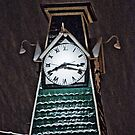 Snowy Clock by Jay White