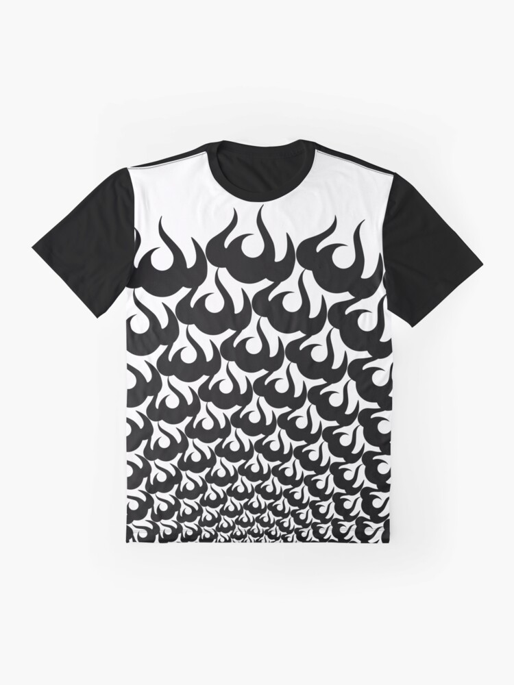 Alternate view of Stoic Fire Vortex - Strength To Fight Back Chaos 2 Graphic T-Shirt