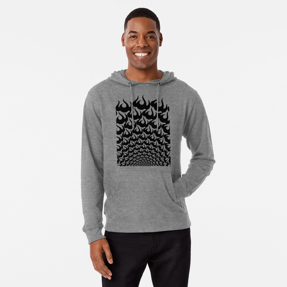 Stoic Fire Vortex - Strength To Fight Back Chaos 2 Lightweight Hoodie
