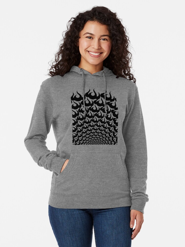 Alternate view of Stoic Fire Vortex - Strength To Fight Back Chaos 2 Lightweight Hoodie