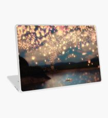Wish Lanterns for Love Laptop Skin