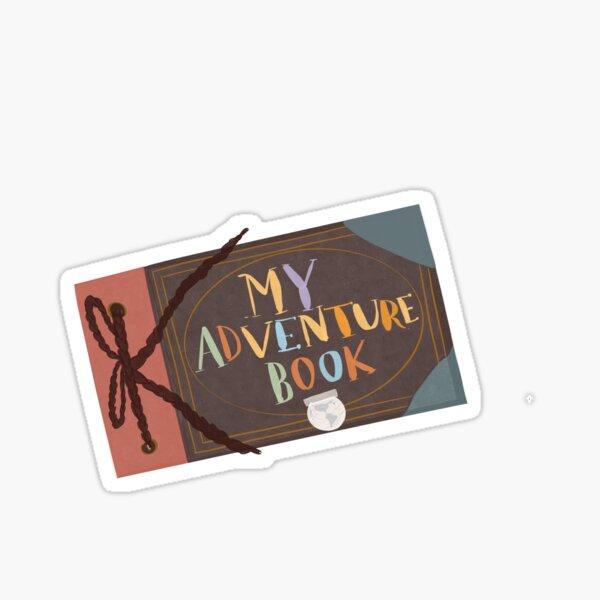 Mi libro de aventuras Pegatina