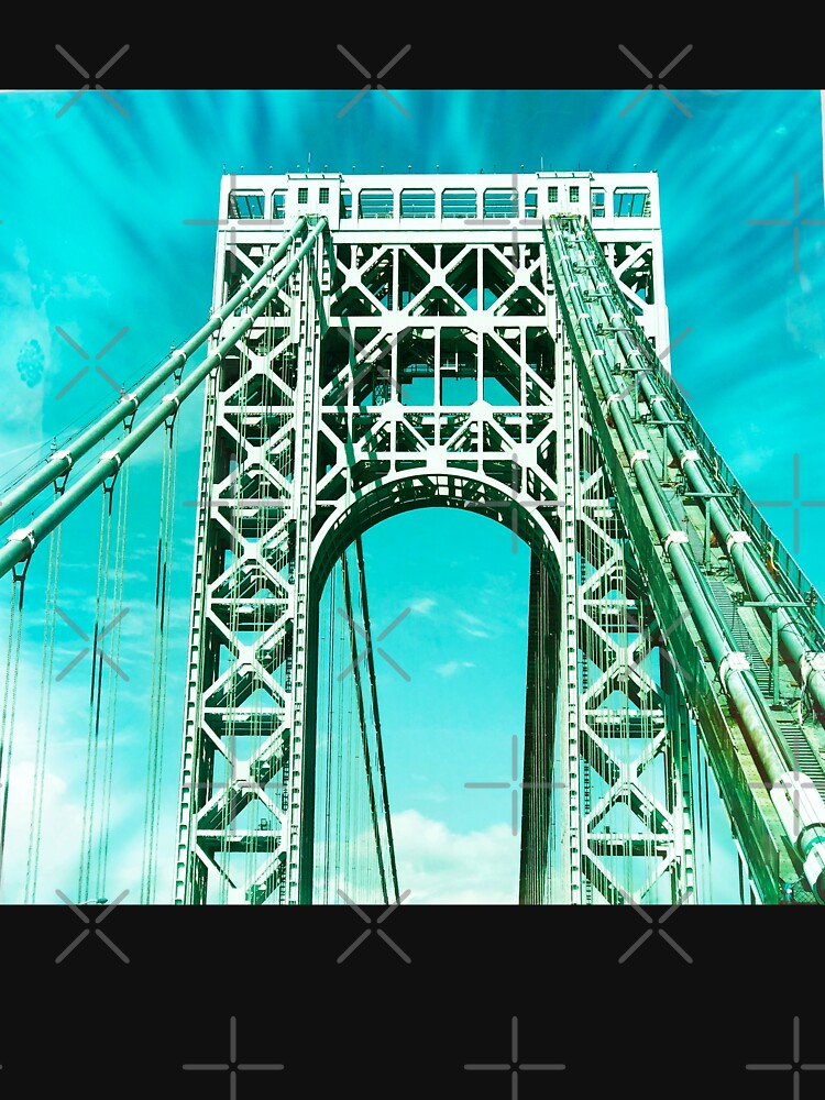 Gift for New Yorker - George Washington Bridge - New York City Lover by OneDayArt