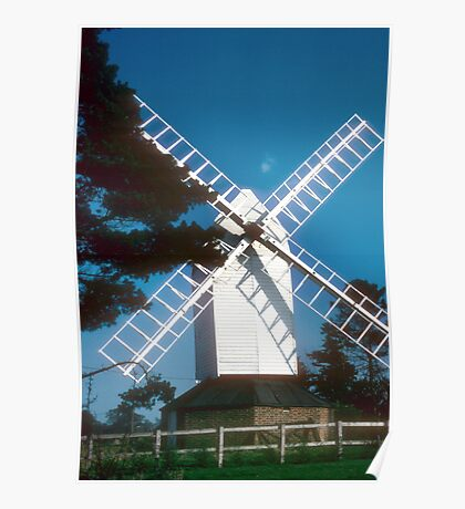 Cromer Windmill, Hertfordshire, England Poster
